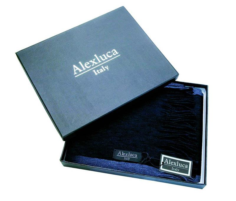BESS M M - Pánský luxusní šál značky ALEXLUCA v dárkové krabičce b4ef720b97